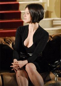 """Mel Lisboa usa corte sem franjas e em fio reto, na novela """"Sete Pecados"""""""