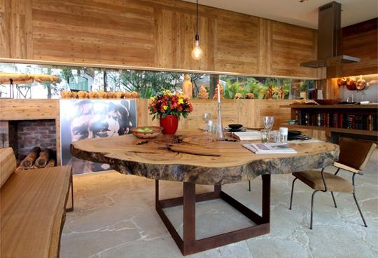 decorar cozinha rustica:Decoracao De Casa Com Madeira