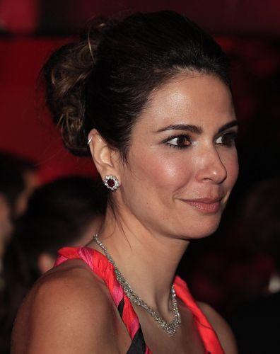 Luciana Gimenenez na comemoração de 100 anos da Hípica Paulista (26/8/2011)