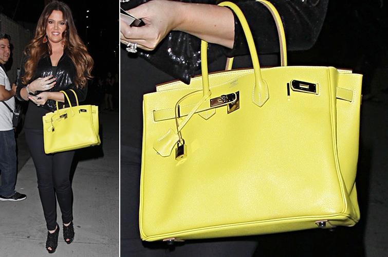 2035872b4 A socialite Kim Kardashian usa um dos modelos de bolsa mais famoso de todos  os tempos, a