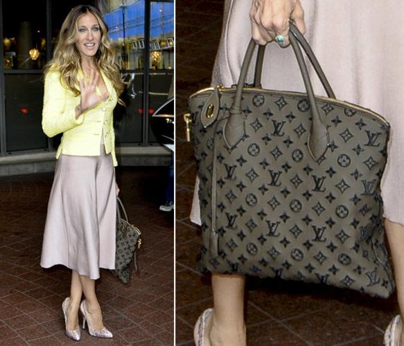 A bolsa Louis Vuitton usada por Sarah Jessica Parker é do modelo