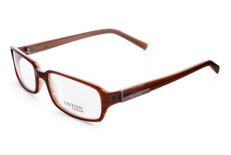 4813482a6 Óculos retangular de acetato marrom, A cor da armação deve combinar com o  cabelo para um resultado harmonioso; R$ 139, na Triton Eyewear (Tel.