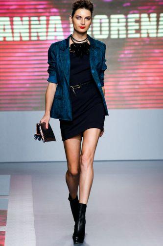 A Anna Morena apresenta coleção para o Inverno 2012 durante o segundo dia de Mega Polo Moda. O evento é realizado pelo famoso shopping atacadista do Brás, bairro de São Paulo conhecido pelas lojas de moda popular (28/02/2012)