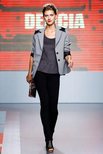A Delícia apresenta coleção para o Inverno 2012 durante o segundo dia de Mega Polo Moda. O evento é realizado pelo famoso shopping atacadista do Brás, bairro de São Paulo conhecido pelas lojas de moda popular (28/02/2012)