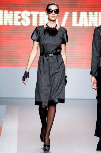 A Ginestra/Lanesi apresenta coleção para o Inverno 2012 durante o terceiro dia de Mega Polo Moda. O evento é realizado pelo famoso shopping atacadista do Brás, bairro de São Paulo conhecido pelas lojas de moda popular (29/02/2012)