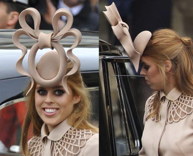 Mais Álbuns. Philip Treacy apareceu na cabeça de diversas convidadas do  casamento de Príncipe William e Kate Middleton. A princesa de York cf9918126fc