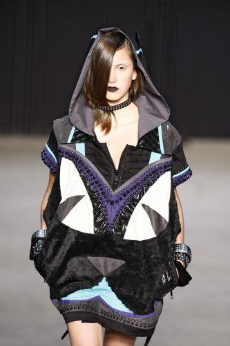 Martins Paulo apresenta coleção para o Inverno 2011 em desfile do concurso Rio Moda Hype, no primeiro dia de Fashion Rio (10/01/2011)