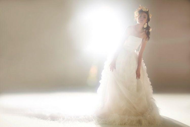 Modelo de vestido de noiva criado por Rodrigo Rosner