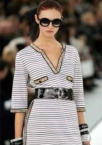 Desfile para o Ver�o 2007 da Chanel, uma das marcas de roupas mais desejadas do mundo