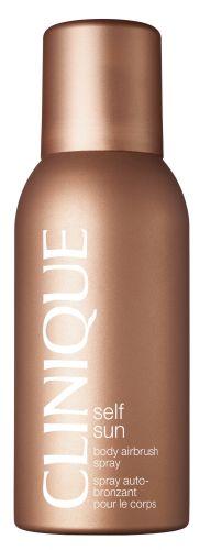 Body Airbrush Spray, Clinique. Com este autobronzeador levíssimo, a marca promete um bronzeado extremamente natural. O spray permite