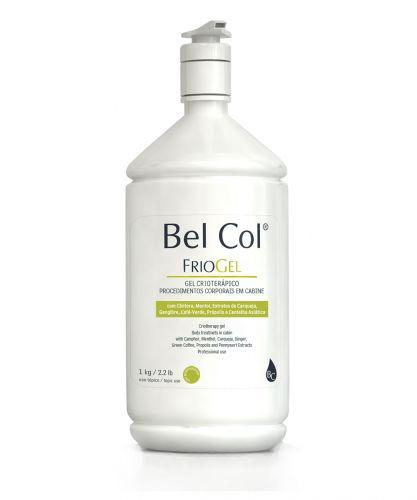 A marca Bel Col lança o Frio Gel, um produto de uso profissional indicado para a redefinição dos contornos corporais e combate à celulite, gordura localizada e flacidez