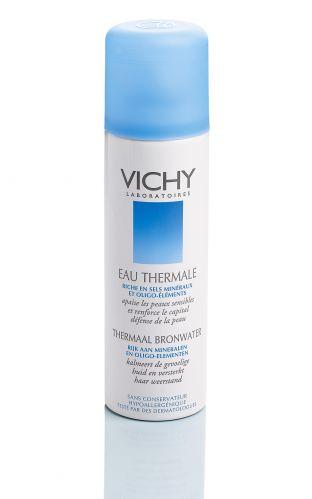 A água termal da cidade de Vichy é reconhecida por seus benefícios desde o Império Romano, e é vendida no mundo inteiro como carro chefe da marca. Água Termal, Vichy, R$ 24,90 (50ml), SAC 0800 7011552
