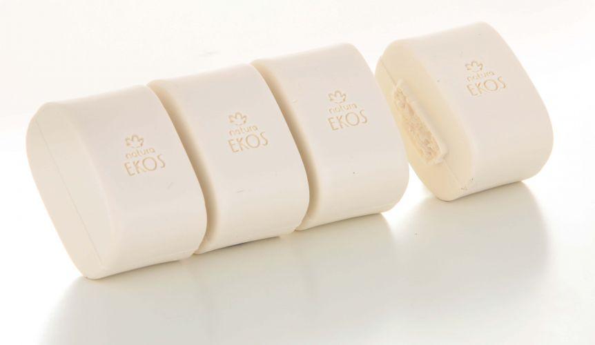O cacau é a matéria prima desse sabonete em gomos da linha Ekos, da Natura. Preço sugerido: R$ 18,90. SAC: 0800 11 5566