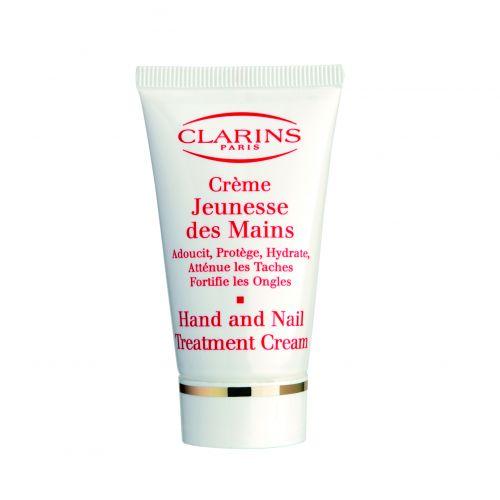 Crème Jeunesse des Mains, Clarins - De rápida absorção, este creme tem textura rica que promete deixar as mãos confortáveis, suaves e acetinadas, além de fortalecer as unhas. Preço sugerido: R$ 115,00. SAC: 0800 704 3440
