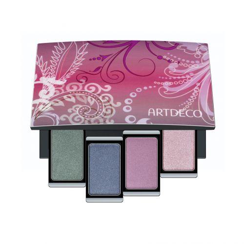 Beauty Box Quattro, da Artdeco, é um estojo magnético que vem com quatro sombras da coleção de inverno da marca alemã. Preço sugerido: R$ 124,00 (R$ 31,00 cada sombra). SAC: 0800-7733450