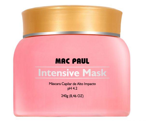 Máscar capilar Intensive Mask, da Mac Paul, pode ser usada por mamães que fizeram escova progressiva. O produto promete dar maciez, desembaraço, brilho e menos volume aos cabelos. Preço médio: R$ 65,00. SAC: (19) 3837 3399