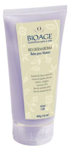 O Bio-Dermaroma Balm para Mamas, da BioAge, é um produto que promete aumentar o tônus mamário. Sua fórmula traz ativos como extrato de colágeno, elastina, óleo de semente de uva e óleo de amêndoas. Preço sugerido: R$ 96; SAC 0/XX/11 3031-7880