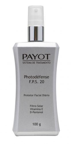 PELE RESISTENTEPhotodéfense FPS 20, Payot, R$ 59,90 (Tel. 0800 164711)