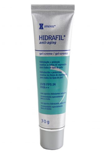 PELE COM TENDÊNCIA A MANCHARHidrafil Anti-aging Gel-creme FPS 24, Stiefel, R$ 39,05 (Tel. 0800 7043189)