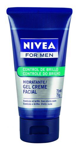 PELEGel de Limpeza Facial e Controle de BrilhoNivea for menRemove as impurezas e o excesso de oleosidadeda pele, previne a formação de cravos e espinhas.Indicado para peles oleosas. Preço sugerido: R$ 18. (Tel.: 0800-7764832)