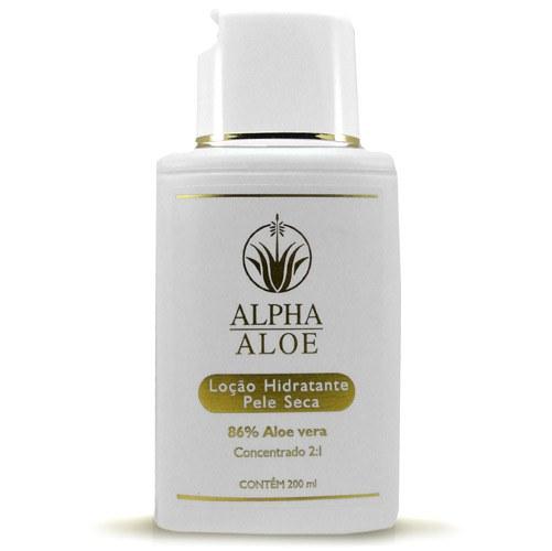 Loção hidratante de Aloe Vera da Alpha Aloe para pele seca, a partir de R$ 48; nas Lojas Americanas. (Tel.: 11 4003-4848)