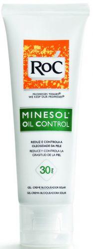 Bloqueador solar da RoC Minesol FPS 30 que controla a oleosidade da pele; R$ 54, na Johnson & Johnson (Tel.: 0800-7036363)