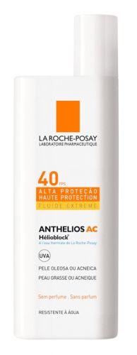 Protetor solar FPS 40, com ação antibrilho, indicado para pessoas com pele oleosa ou acneica; R$ 52,90, na La Roche-Posay (Tel.: 0800-7011552)