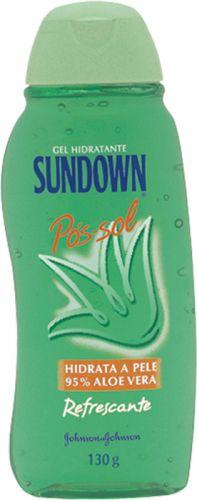 Gel hidratante pós-sol Sundown, que ajuda a recondicionar a pele e proporciona sensação de frescor; R$ 19,51, na Johnson & Johnson (Tel.: 0800-7036363)
