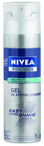 Junho 09: O gel de barbear Nivea For Men Easy Cross Shave promete proporcionar mais mobilidade durante o barbear, reduzindo o atrito da lâmina com a pele. A fórmula traz partículas de pantenol, ingrediente com alta propriedade emoliente. Preço sugerido: R$ 17,52. SAC 0800-7764832