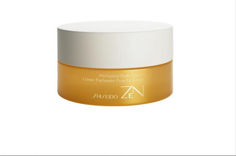 Junho 2009: O Zen Perfumed Body Cream, da Shiseido, é um creme para o corpo que traz a mesma fragrância do perfume Zen. O produto traz como ingrediente principal o extrato da folha de nêspera, e promete ajudar no relaxamento, restaurar a maciez e flexibilidade da pele e facilitar a renovação celular. Preço sugerido: R$ 225. SAC 0800-148023