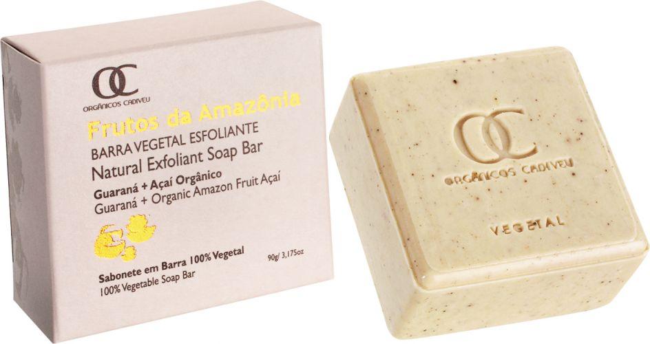Setembro 2009: O sabonete Barra Vegetal Esfoliante ? Guaraná e Açaí, da marca Orgânicos Cadiveu, promete deixar a pele renovada e acetinada. Preço sugerido: R$ 15,00. SAC: (11) 5078 6897