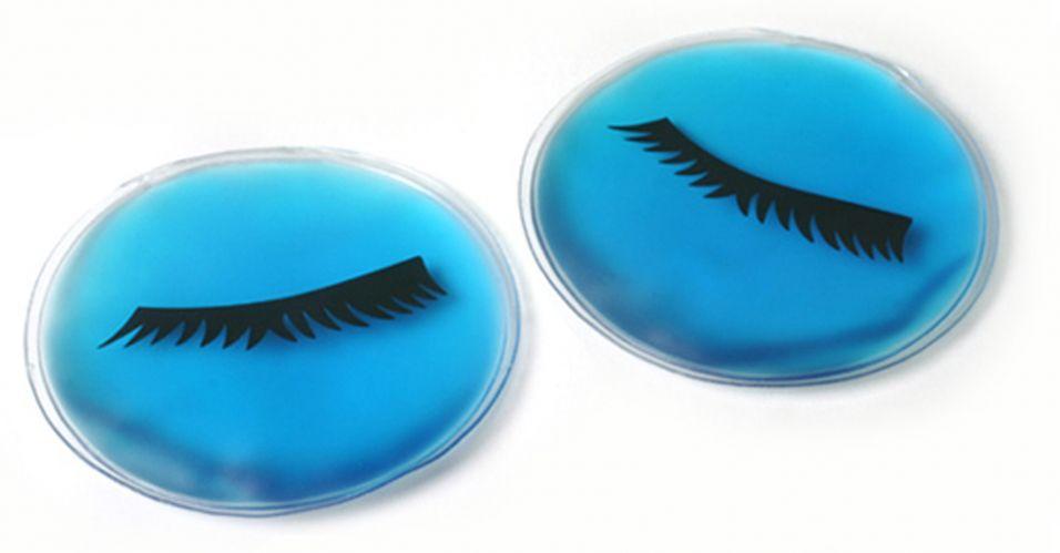 Outubro 2009: A Mini Máscara Gel para os Olhos da Basicare promete amenizar olheiras e sinais de cansaço, diminuindo a tensão. Pode ser usada quente ou fria. Preço sugerido: R$ 20,00. SAC: (11) 3228 4199