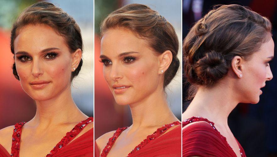 Natalie Portman foi ao lançamento do filme