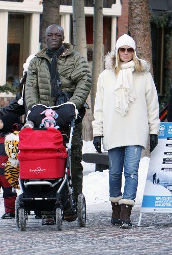 A top alemã Heidi Klum, 36 anos, tem quatro filhos. A filha mais nova, Lou Sulola, nasceu no final de 2009, fruto de seu casamento com o cantor Seal, com quem tem mais dois filhos, Henry e Johan, nascidos em 2005 e 2006, respectivamente. O filho mais velho, Leni, cujo pai é Flavio Briatore, nasceu em 2004. Com sua experiência no assunto, ela resolveu lançar uma grife de moda gestante.