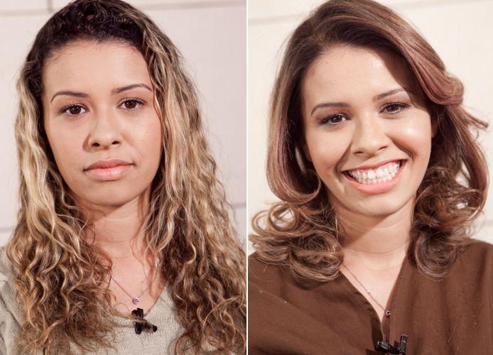 O antes e depois de Solange Lima, primeira participante do programa