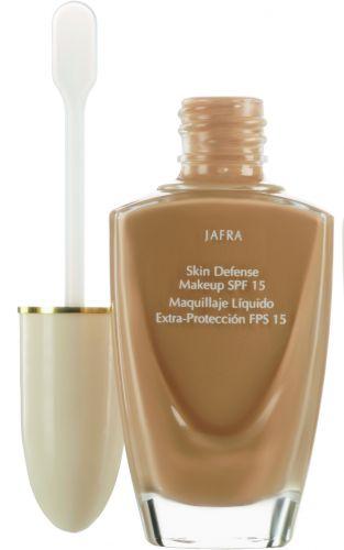 Base Extra Proteção FPS 15, Jafra, R$ 56 (SAC (11) 3595-0700). Protege contra a radiação ultravioleta A e B e a poluição e melhora a umectação da pele
