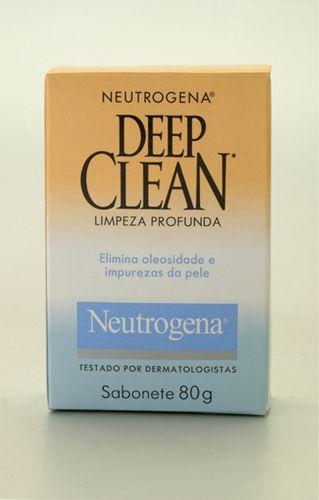 Para homensDeep Clean Sabonete em Barra, Neutrogena, R$ 4,90. Indicado especificamente para limpeza facial de peles mistas e oleosas. Contém Triclosan, ingrediente com ação antibacteriana que ajuda a combater as bactérias causadoras da acne. SAC: 0800-7036363