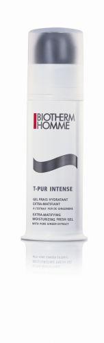 Para homensT-Pur Gel Frais Hydratant Extra MatifiantHidratante, Biotherm, R$ 185. Este gel hidratante para o rosto proporciona hidratação extra-matificante da pele masculina oleosa, reduzindo a oleosidade, o brilho e os poros obstruídos. Contém em sua fórmula extrato puro de gengibre, combinado com ácido salicílico, zinco, argila branca, aminoácidos e glicerina. SAC: 0800 7017323