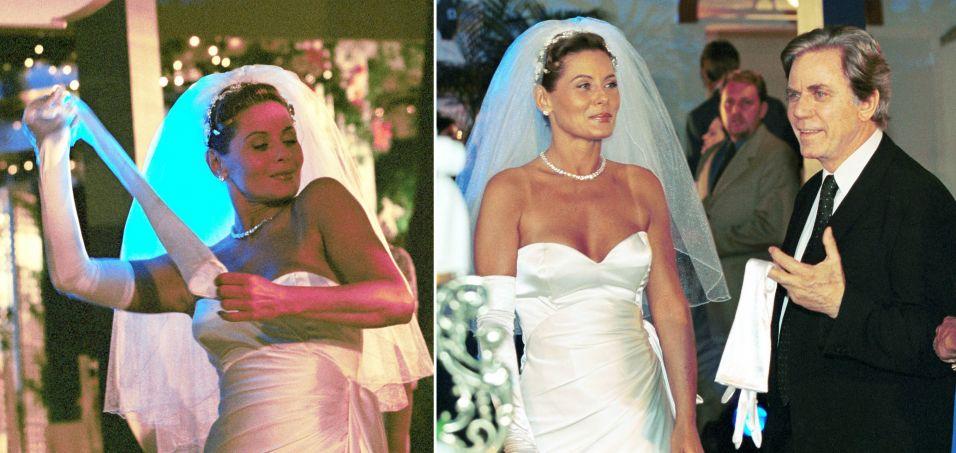 A personagem de Vera Fischer se casou em