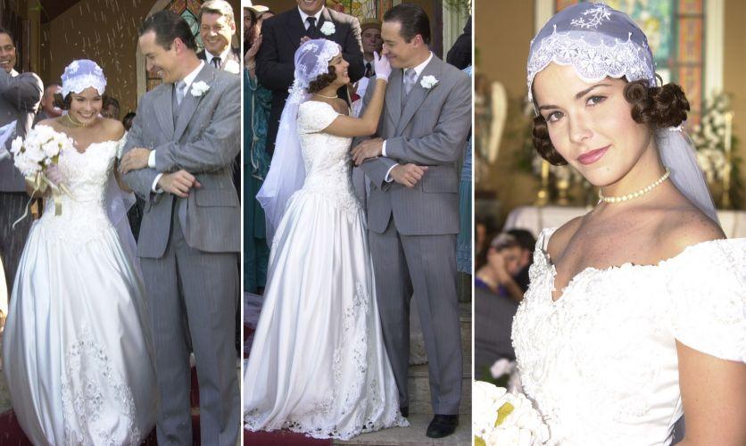 A personagem de Samara Felippo se casou com a de Rodrigo Faro em
