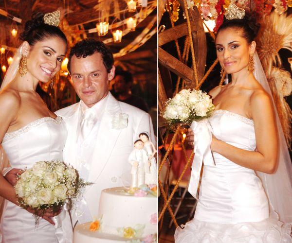 O vestido de noiva de Conchita (Franciely Freduzeski) em