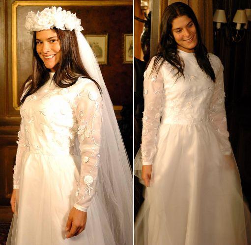 O vestido de Serena (Priscila Fantin) em