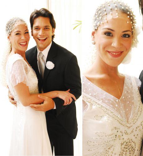 A personagem de Júlia Almeida também se casou em