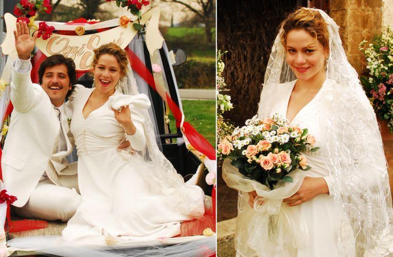 Para o casamento campestre de Agostina (Leandra Leal) em
