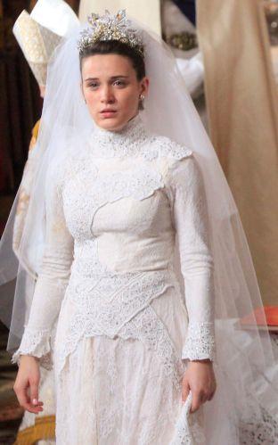 Outro vestido de noiva usado por Bianca Bin em