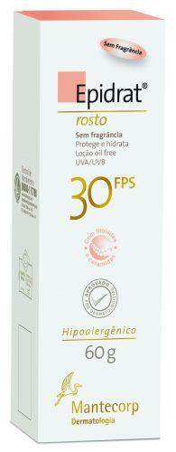 Epidrat Rosto - Hidratante com FPS 30 promete hidratar, melhorar a elasticidade e auxiliar no processo de renovação da pele. Preço sugerido: R$40,00. SAC: 08000 11 77 88