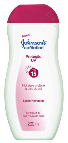 Johnson?s Softlotion Proteção UV FPS15 - O produto promete aliar proteção solar ao hidratante diário. Preço sugerido: R$ 8,90. SAC 0800 703 6363