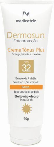 Indicado para peles sensíveis e com rosácea, promove clareamento imediato. Não é indicado para exposição intensa. Protetor solar Creme Tônus Plus FPS 32 Dermosun; R$ 85, da Medicatriz (SAC: 11 3564-9390)Preços consultados em dezembro de 2010