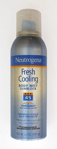O Neutrogena Fresh Cooling FPS 45 aposta no toque seco ultraleve, ideal para a aplicação regular, por ser mais confortável à pele que não fica pegajosa. E ainda promete previnir o ressecamento. Preço sugerido: R$ 48. SAC: 0800-7036363