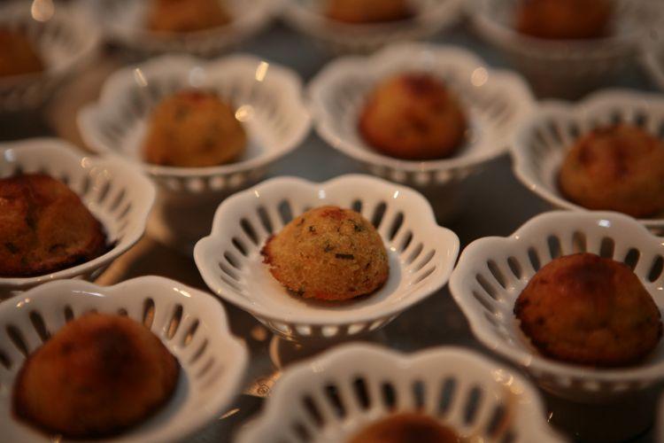 Expositores, como a Divani & Fusco, apresentaram suas sugestões gastronômicas, com degustação de aperitivos, no 19ª Spicy Wedding Day (18/11/2010)
